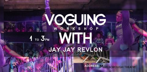 Voguing With Jay Jay Revlon #BrightonEdition
