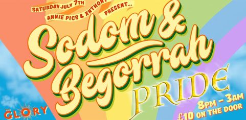 Sodom & Begorrah Pride Party!