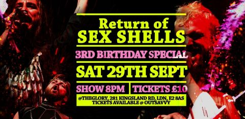 Sex Shells 3rd Birthday: Return of Sex Shells