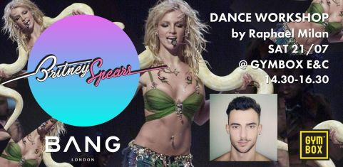 Get ready 4 Britney....B**ches (Dance workshop)