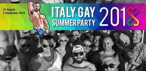 Italy Gay Summer Party 2018