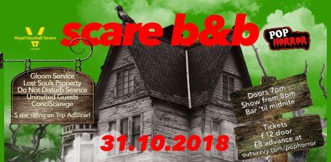 Scare B and B - PopHorror's Haunted Halloween Hotel