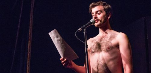 Naked Boys Reading: Character Studies