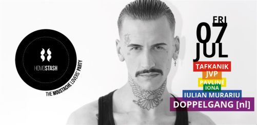 HOMOSTASH - Lets be PROUD! - featuring Doppelgang (Amsterdam)