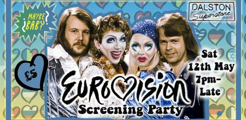 Maybe Baby Eurovision Screening Party