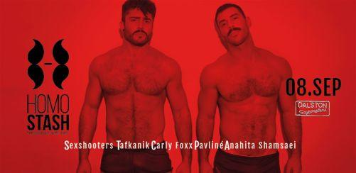 HOMOSTASH - Lets get sexual! - Guest DJs: SEXSHOOTERS
