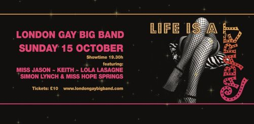 London Gay Big Band presents: Life is a Cabaret