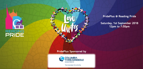 PridePlus Enclosure - Reading Pride 2018