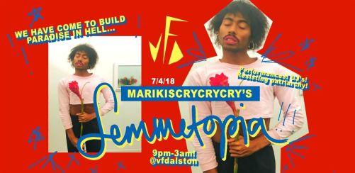 marikiscrycrycrys Femmetopia!