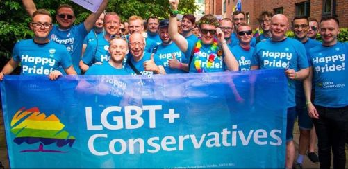 LGBT+ Conservatives at Manchester Pride