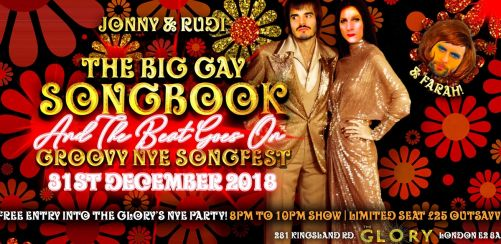 Big Gay Songbook - Groovy NYE Songfest