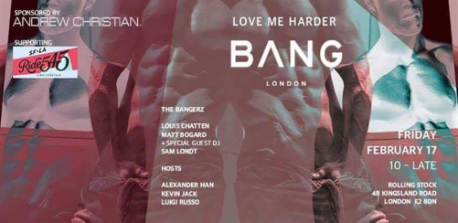 BANG • Love Me Harder