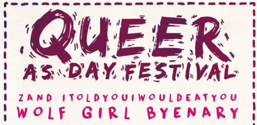 Queer As Day Fest 2018