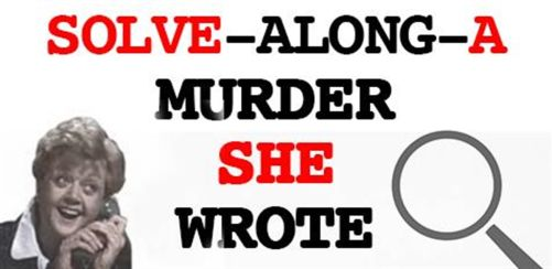 Solve-Along-A-Murder-She-Wrote at Mama Rouxs