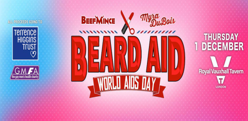BEARD AID - World AIDS Day 2016