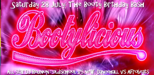 The Bootylicious Birthday Bash