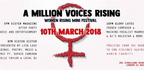 A Million Voices Rising - Sister Sizter Advance Tickets