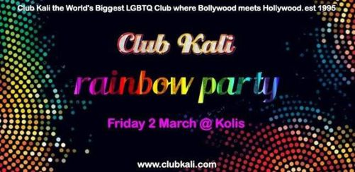 Club Kalis Queer Rainbow Party