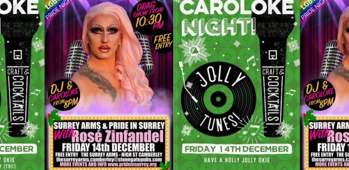 CarolOke and Drag at The Surrey Arms