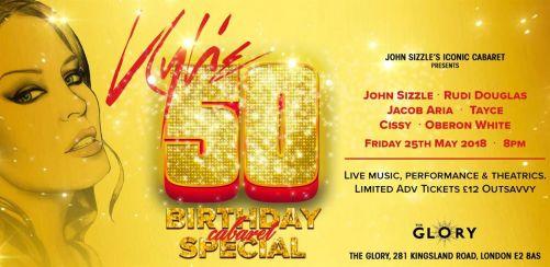 Kylie 50 - Birthday Cabaret Special