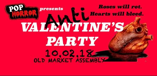 PopHorrors Anti-Valentines Party Bristol