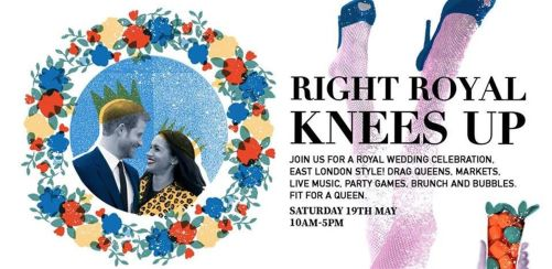 Right Royal Wedding Knees Up