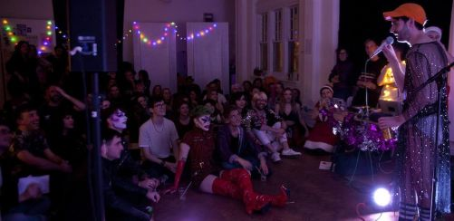 Tits and Tinsel: Live Art Christmas Party 2018
