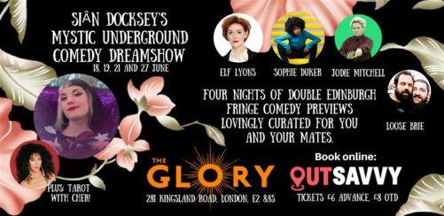 Siân Dockseys Mystic Underground Comedy Dreamshow