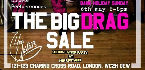 The Big Drag Sale at Goldsmiths Vintage