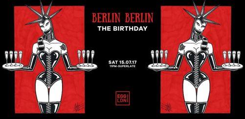 Berlin Berlin - The Birthday: Sisyphos, Steyoyoke, Rumpelkammer