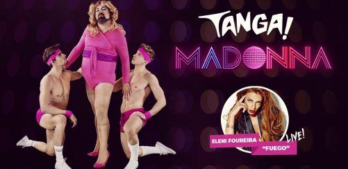 TANGA! Madonna + Eleni Foureira live!