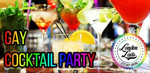 London Lads Gay Cocktail Party