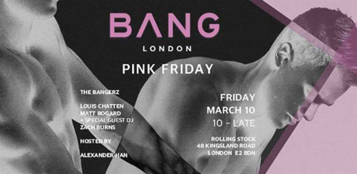 BANG • Pink Friday