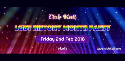Club Kalis LGBT History Month Party
