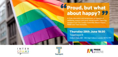 InterComms & Pride AM present: Proud, but what about Happy?
