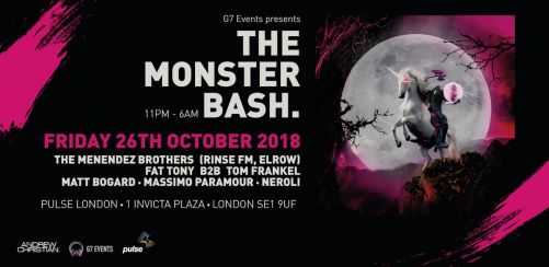 The Monster Bash: A Halloween Rave