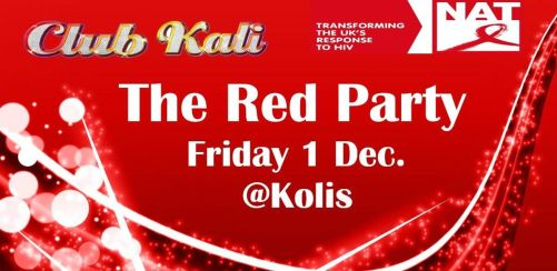 Club Kali presents The RED Party
