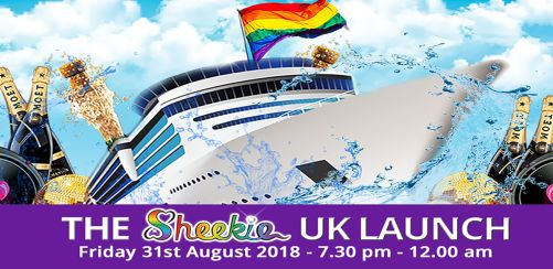 The Sheekie UK Launch - The Ultimate LGBT+ End of Summer Party