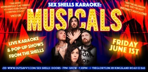 Sex Shells Karaoke: Musicals!