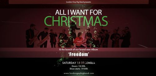 London Gay Big Band presents: All I Want For Christmas