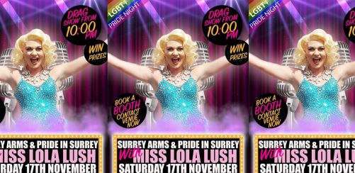 LGBTQ+ Pride Night @ Surrey Arms Camberley
