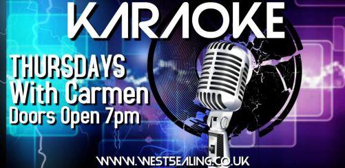 Karaoke with Carmen