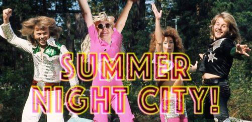 Summer Night City! An ABBA dance party