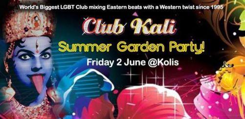 Club Kalis Summer Garden Party