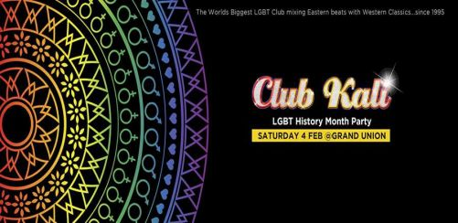 Club Kali LGBT History Month Party
