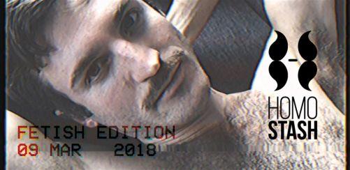 HOMOSTASH - Fetish edition - Headliner: DEEPCHILD (Aus/Berlin)