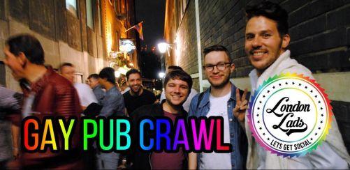 April Gay Pub Crawl (Soho)