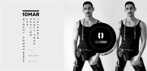 Homostash - Lets get kinky! Guest DJ: Miguel Agnes (Madrid)