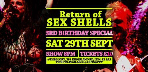 Sex Shells 3rd Birthday: Return of Sex Shells