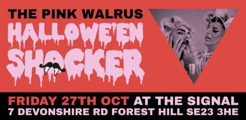 Pink Walrus Halloween Shocker